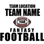 Classic Fantasy Football Personalized