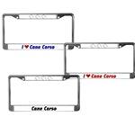 Cane Corso License Plate Frames