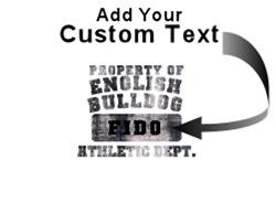 Personalized Property of English Bulldog