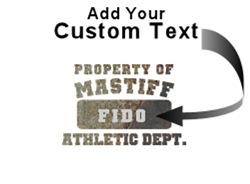 Personalized Property of Mastiff