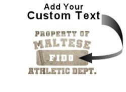 Personalized Maltese