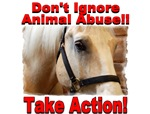 Don't ignore animal abuse!