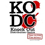 KO Distribution Centre boxing tshirts