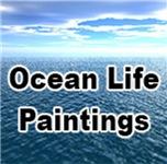Ocean Life Paintings