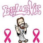 Believe Jesus - Breast Cancer Awareness