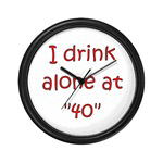 I Drink Alone At