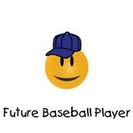 Future Baseball Player smiley face