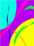 Bright Colors Abstract Design