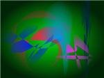 Green Earth Abstract Art
