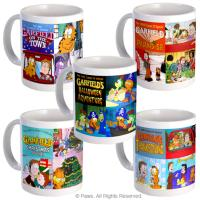 The Garfield TV Specials: Collectible Mugs