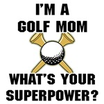 Golf Mom Superhero