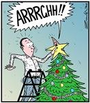 Christmas Star's butt surprise