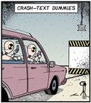 Crash-text Dummies