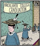 Bricklayer College Graduation