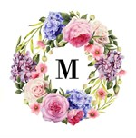 Floral Wreath with Roses