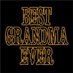 BEST GRANDMA EVER Grandparent's Day