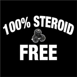 100% Steroid Free FUNNY Gym Body Builder