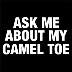 Ask Me About My Camel Toe FUNNY Adult Humor