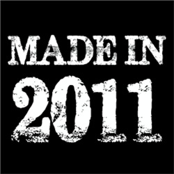 Made In 2011 BIRTHDAY Gift Year of Birth