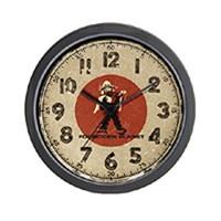 Wall clocks - science fiction and fantasy movies