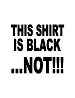 THIS SHIRT IS BLACK...NOT!!!