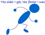 The older I get...Runner