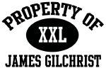 Property of James Gilchrist