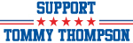 Support TOMMY THOMPSON