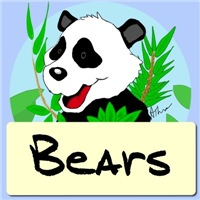 Cartoon Bear T-Shirts|Bear Illustrations|Gifts
