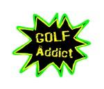 Funny Golf Addict