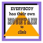 Mt. To Climb