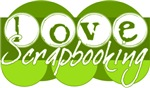Love Scrapbooking - green