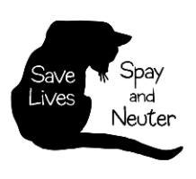 Save Lives - Spay & Neuter