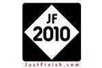 2010 - Just FINISH sign