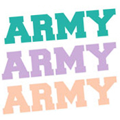 ARMY In Different Colors