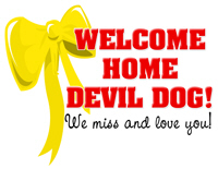 Welcome Home Devil Dog