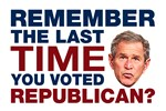 The Last Time You Voted Republican