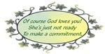 Noncommital God