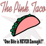 The Pink Taco | Hungry Lesbian T-shirts & Goodies