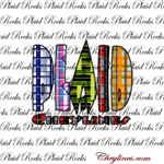 Plaid Rocks Coffee Mugs