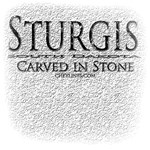 Sturgis Carved In Stone Men's T-Shirts