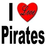 I Love Pirates