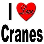 I Love Cranes