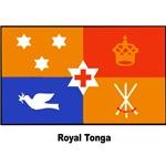 Royal Tonga Tongan Flag