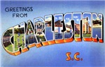 Charleston South Carolina Greetings
