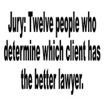 Jury, Lawyer and Justice Humor