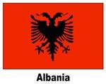 Albania Albanian Flag