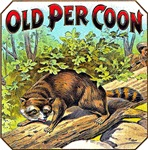 Coon Cigar Label