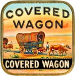 Covered Wagon Cigar Label