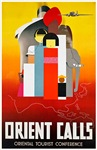 Orient Travel Poster 1